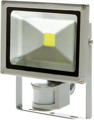 LED reflektor s pohybovým snímačom 10W biela