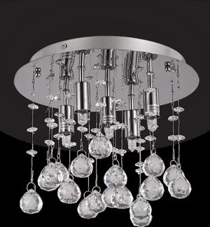 Ideal lux LED Moonlight Cromo stropné svietidlo 5x4,5W 94649