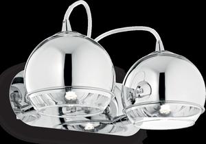 Ideal lux LED Discovery nástenné svietidlo 2x4,5W 82431