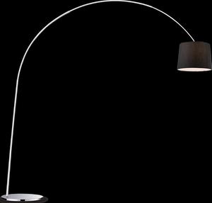 Ideal lux LED Dorsale nero lampa stolná 5W 14371