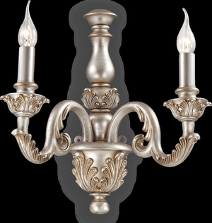 Ideal lux LED Giglio argento nástenné svietidlo 2x5W 75242