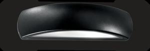 Ideal lux LED Giove nero nástenné svietidlo 5W 92201