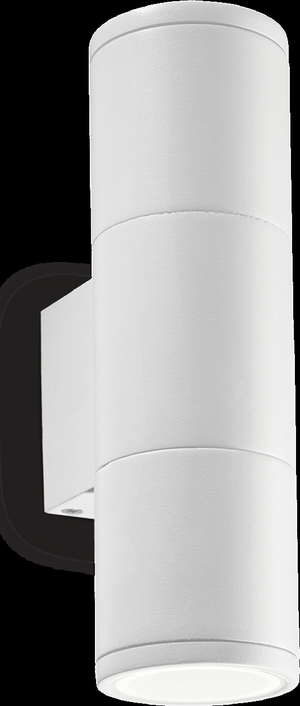 Ideal lux LED Gun small bianco nástenné svietidlo 2x5W 100388