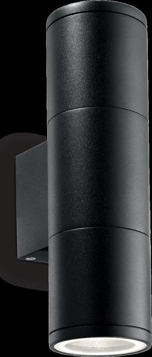 Ideal lux LED Gun small nero nástenné svietidlo 2x5W 100395