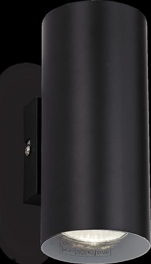Ideal lux LED Hot nero nástenné svietidlo 2x5W 95998