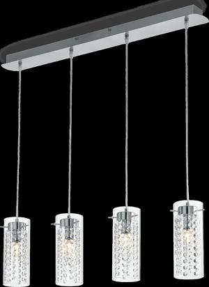 Ideal lux LED Iguazu závesné svietidlo 4x5W 52373