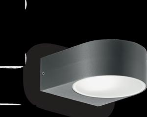 Ideal lux LED Iko antracite nástenné svietidlo 5W 18515