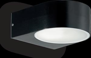 Ideal lux LED Iko nero nástenné svietidlo 5W 18539
