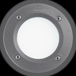 Ideal lux LED Leti round grigio max 3W gx53 / 96568