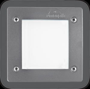 Ideal lux LED Leti square grigio max 3W gx53 / 96599
