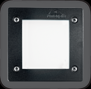Ideal lux LED Leti square nero max 3W gx53 / 96582