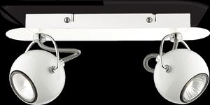 Ideal lux LED Lunare bianco bodové svietidlo 2x5W 77895