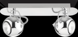 Ideal lux LED Lunare Cromo bodové svietidlo 2x5W 66806
