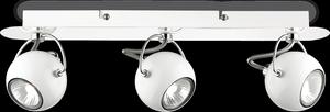 Ideal lux LED Lunare bianco bodové svietidlo 3x5W 77901