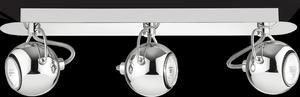 Ideal lux LED Lunare Cromo bodové svietidlo 3x5W 66813
