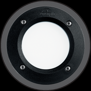Ideal lux LED Leti round nero max 3W gx53 / 96551