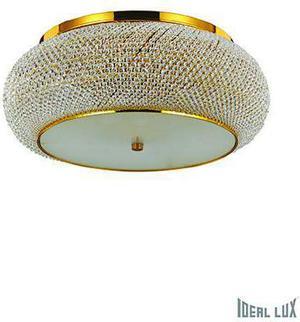 Ideal lux LED Pasha Oro stropné svietidlo 10x5W 100791