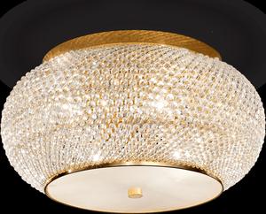 Ideal lux LED Pasha Oro stropné svietidlo 6x5W 100807