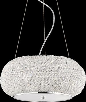 Ideal lux LED Pasha Cromo závesné svietidlo 6x5W 82158