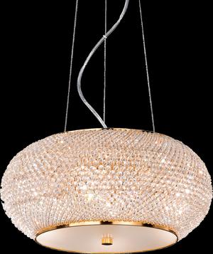 Ideal lux LED Pasha Oro závesné svietidlo 6x5W 82172