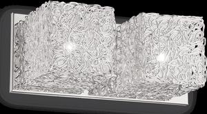 Ideal lux LED Quadro nástenné svietidlo 2x4,5W 31675
