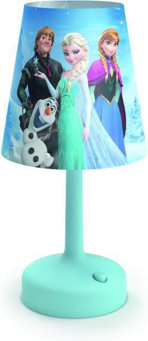 Philips LED Disney prenosná lampa stolná Frozen 71796/08/16