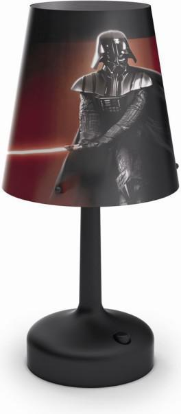 Philips LED Disney prenosná lampa stolná Star Wars Darth Vader 71889/30/16