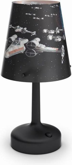 Philips LED Disney prenosná lampa stolná Star Wars Darth Vader 71888/30/16