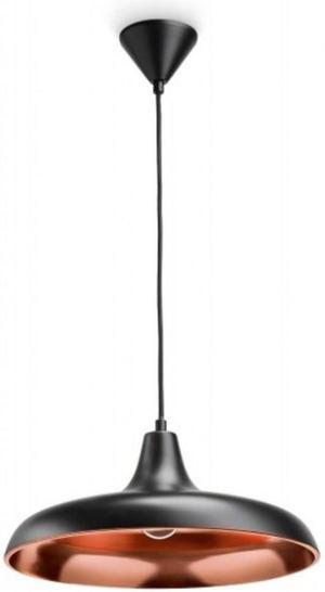 Philips LED Surrey svietidlo závesné čierna 5W 36532/30/E7