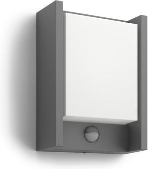 Philips LED Arbour IR svietidlo vonkajšie nástenné senzor 6W 16461/93/16