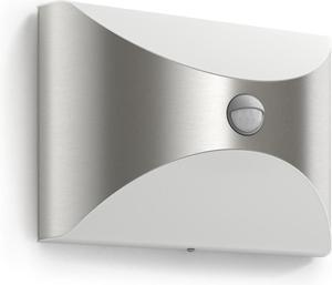 Philips LED Herb IR svietidlo vonkajšie nástenné so senzorom 6W 17299/47/16
