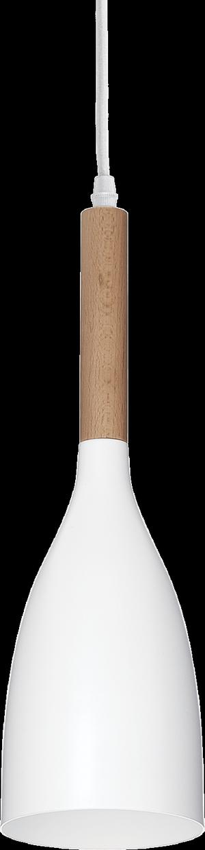 Ideal lux LED Manhattan bianco závesné svietidlo 5W 110745
