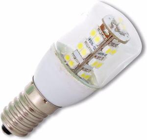 LED žiarovka E14 2W biela