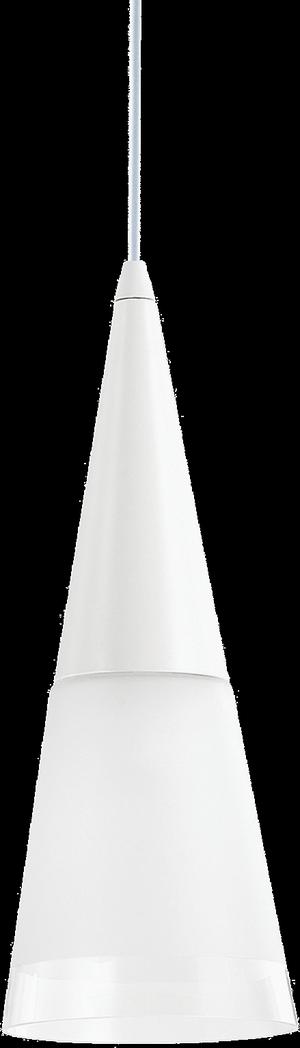 Ideal lux LED Cono bianco závesné svietidlo 5W 112459