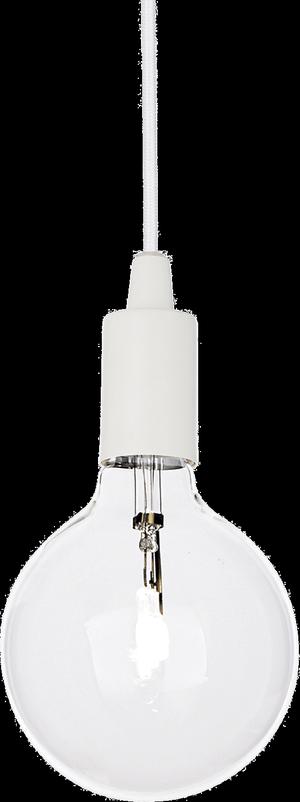 Ideal lux LED Edison bianco závesné svietidlo 5W 113302