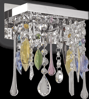 Ideal lux LED Giada color stropné svietidlo 2x4,5W 99217