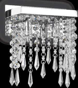 Ideal lux LED Giada trasparente stropné svietidlo 2x4,5W 98784