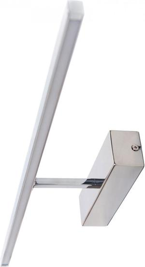Ledko LED svietidlo nástenné 8W 412lm lesklý chrom L/00220