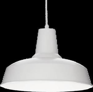 Ideal lux LED Moby bianco závesné svietidlo 5W 102047