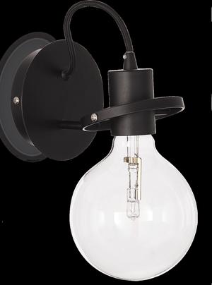 Ideal lux LED Radio nero nástenné svietidlo 5W 119502
