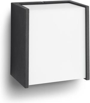 Philips LED Macaw 4000k svietidlo vonkajšie nástenné čierna 3,5W 17302/30/P3