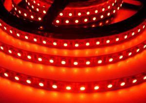 LED pásik 4,8W/m bez krytia červená