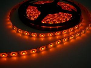 LED pásik 4,8W/m bez krytia oranžová