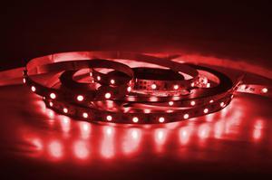 LED pásik 9,6W/m bez krytia červená