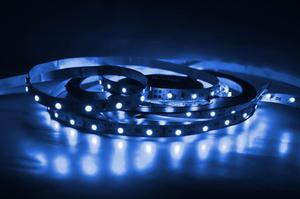 LED pásik 9,6W/m bez krytia modrá