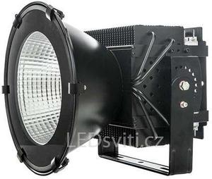 LED priemyselné osvetlenie 500W teplá biela