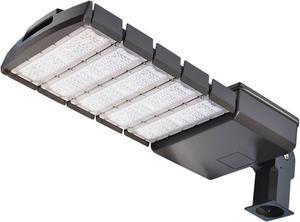 Čierne LED verejné svietidlo 250W VO neutrálna biela