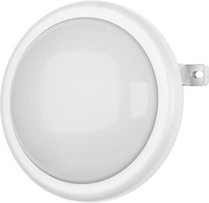 Biele kruhové stropné a nástenné LED svietidlo 10W neutrálna biela