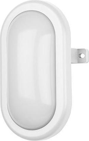 Biele oválne stropné a nástenné LED svietidlo 5W neutrálna biela