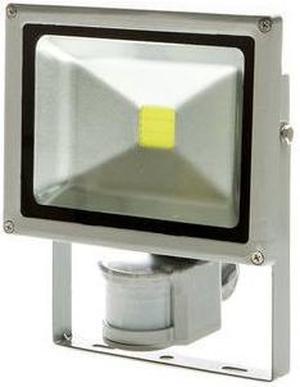 LED reflektor s pohybovým snímačom 50W teplá biela